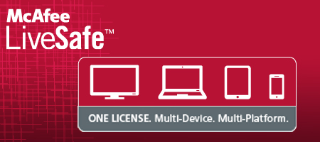 The McAfee LiveSafe™